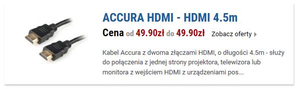 ACCURA HDMI - HDMI 4.5m