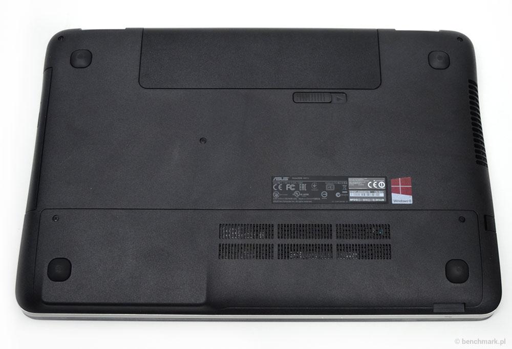 Asus N551j spód obudowy
