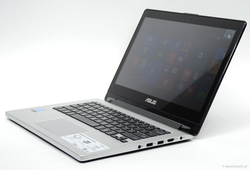 Asus Transformer Book Flip TP300L tryb laptopa