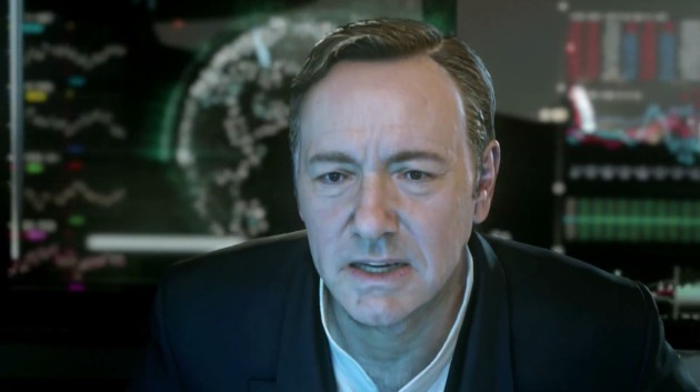 Call of Duty: Advanced Warfare Kevin Spacey.