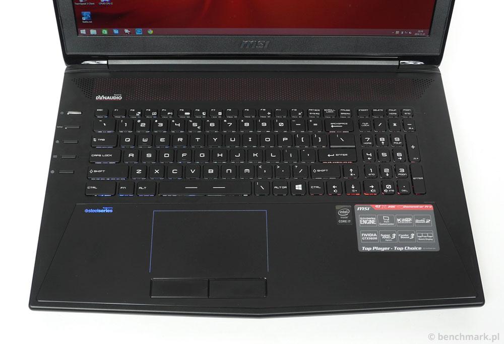 MSI GT72 2QE Dominator Pro klawiatura