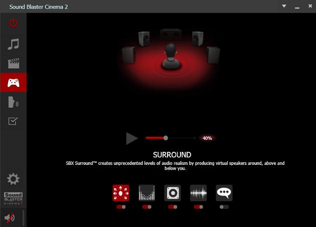 Sound Blaster Cinema