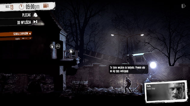 This war of mine - screen z gry