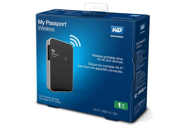 WD My Passport Wireless 2TB - pudełko