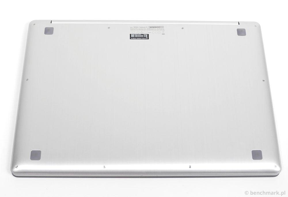 Asus NX500JK spód obudowy