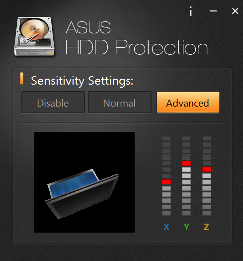 Asus HDD Protection