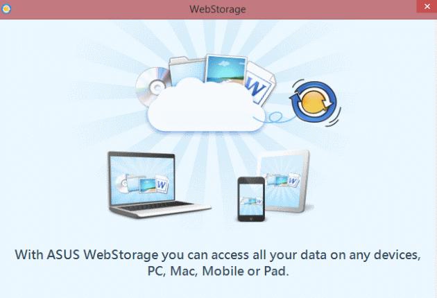Asus Web Storage