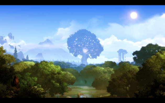 Ori and the Blind Forest – świat