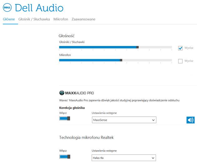 Dell Audio