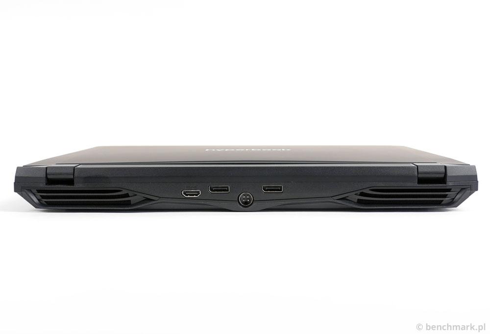 Hyperbook X15 tył