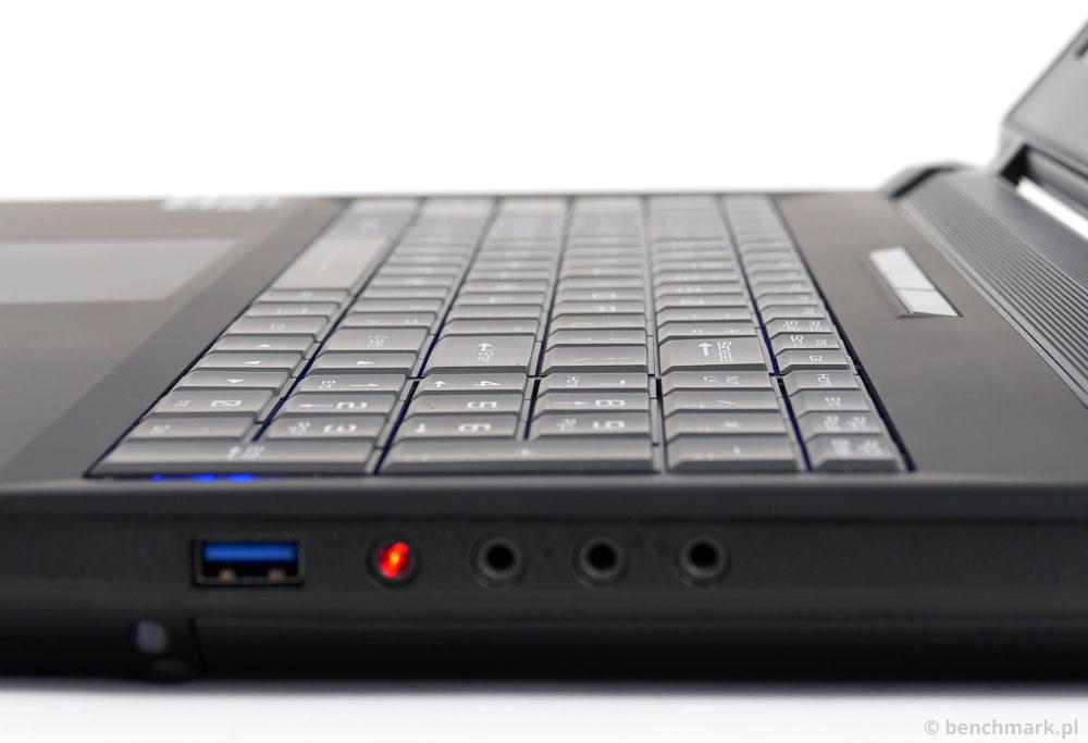 Hyperbook X15 klawiatura