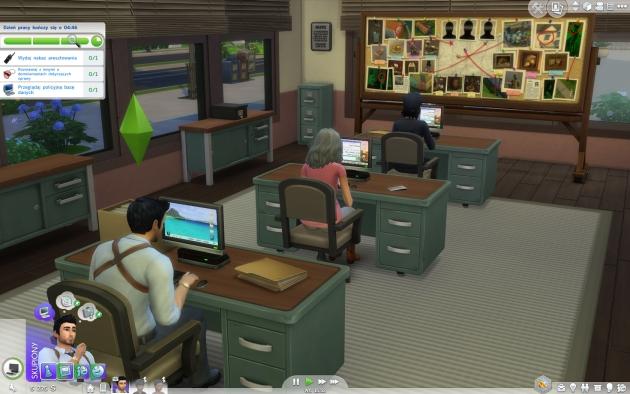 The Sims 4: Witaj w pracy – biuro