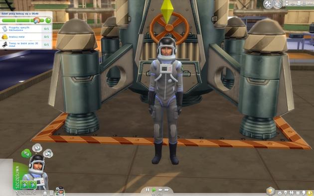 The Sims 4: Witaj w pracy – astronauta
