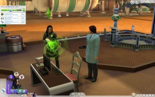The Sims 4: Witaj w pracy – eksperyment