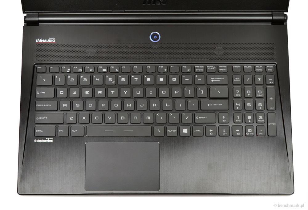 MSI GS60 klawiatura