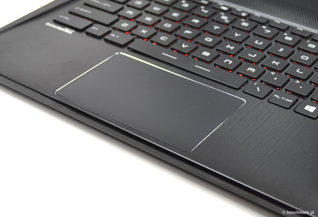 MSI GS60 touchpad