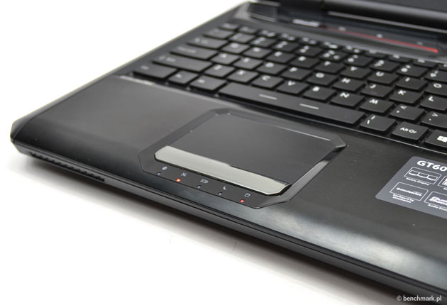 MSI GT60 touchpad