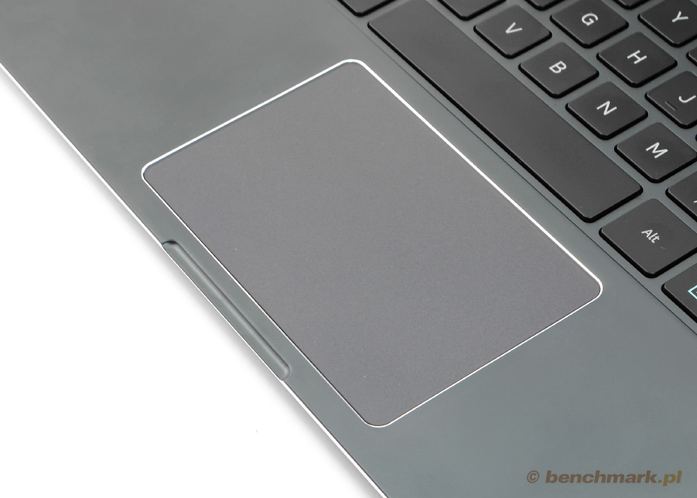 Samsung ATIV Book 9 Plus touchpad