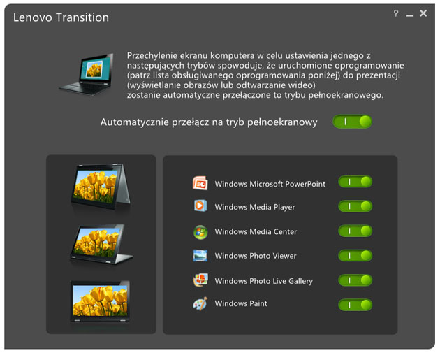 Lenovo Transition