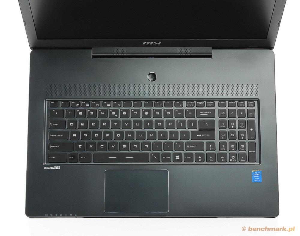 MSI GS70 klawiatura