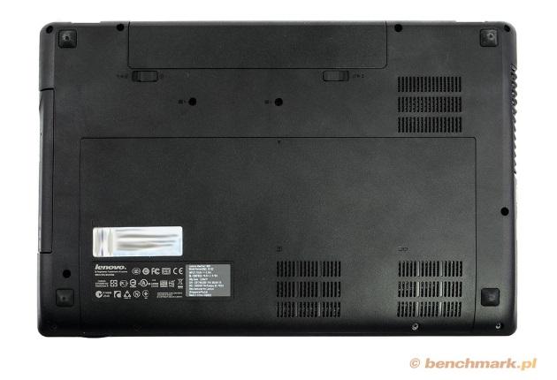 Lenovo Y580 spód obudowy