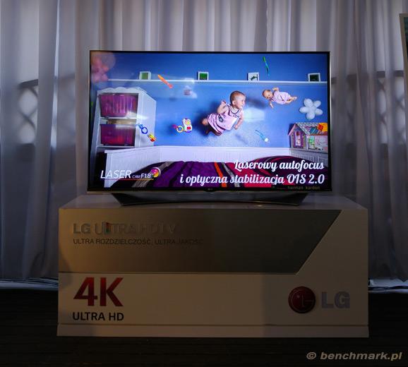 LG G4 premiera TV