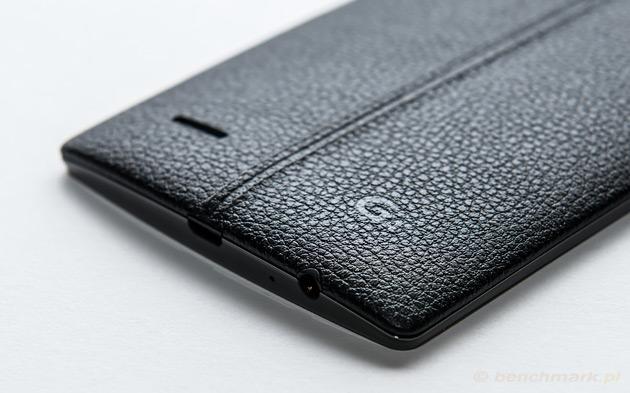LG G4 logo na skórze