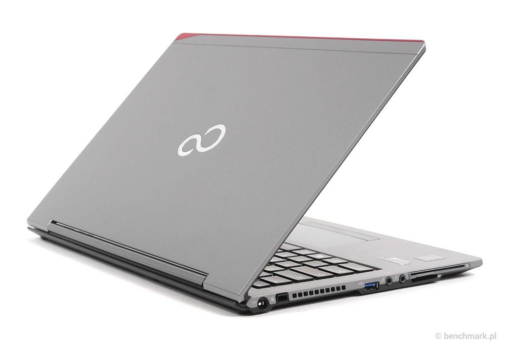 Fujitsu Lifebook U745 profil tył