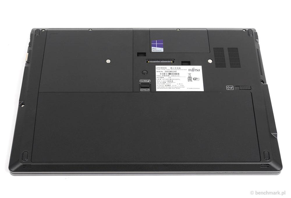 Fujitsu Lifebook U745 spód obudowy