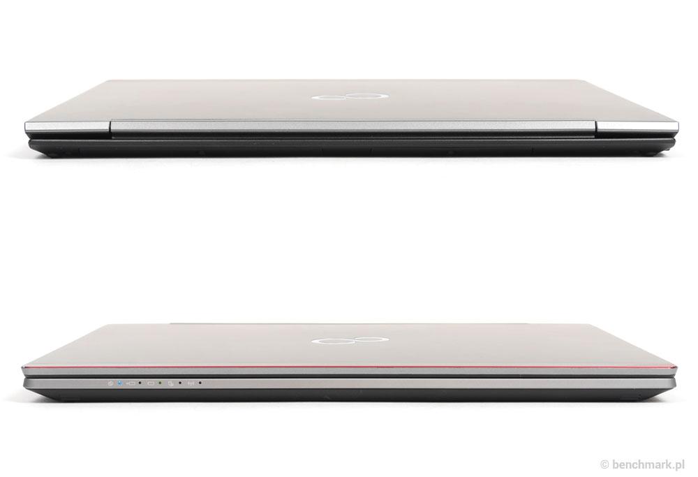Fujitsu Lifebook U745 przód i tył
