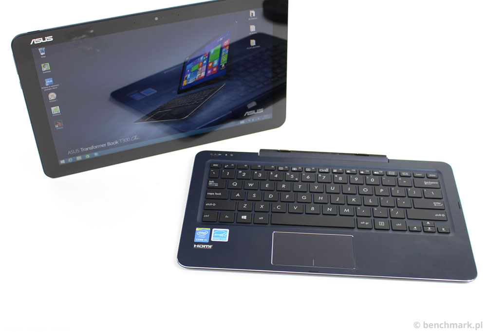 Asus Transformer Book T300 Chi tablet i klawiatura