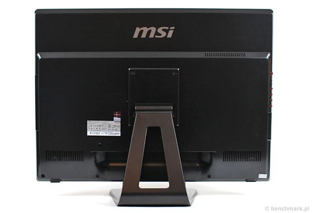 MSI Gaming 24GE tył