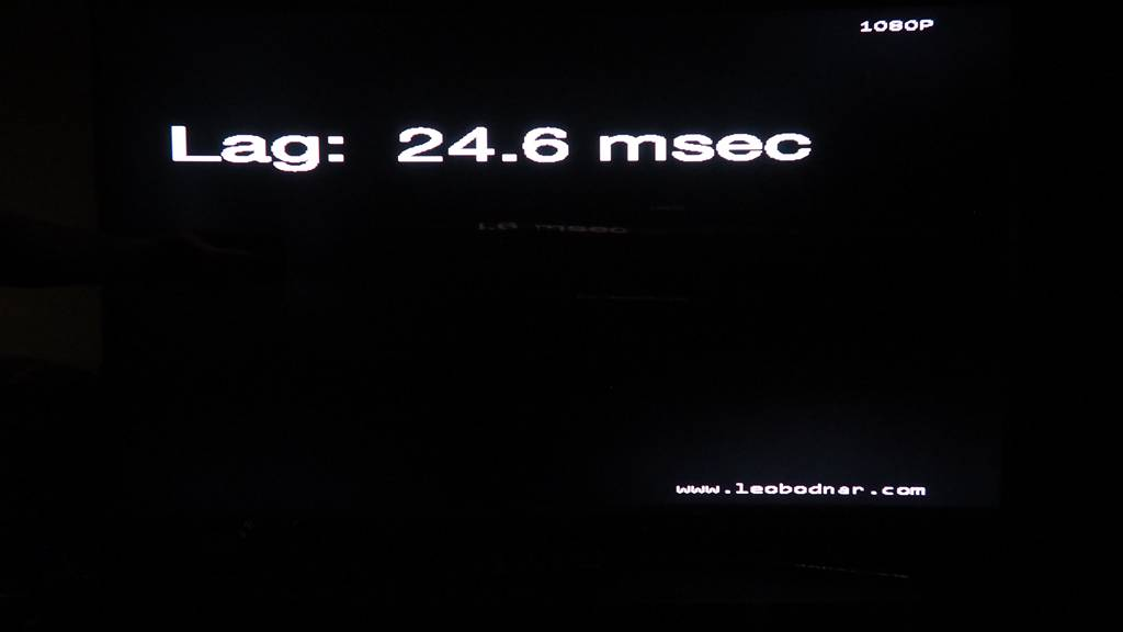 Samsung UE65JS9500 - input lag