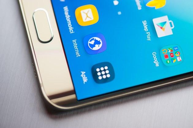 Samsung Galaxy S6 edge plus - krawędź