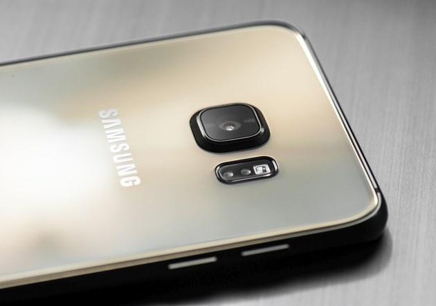 Samsung Galaxy S6 edge plus - tył