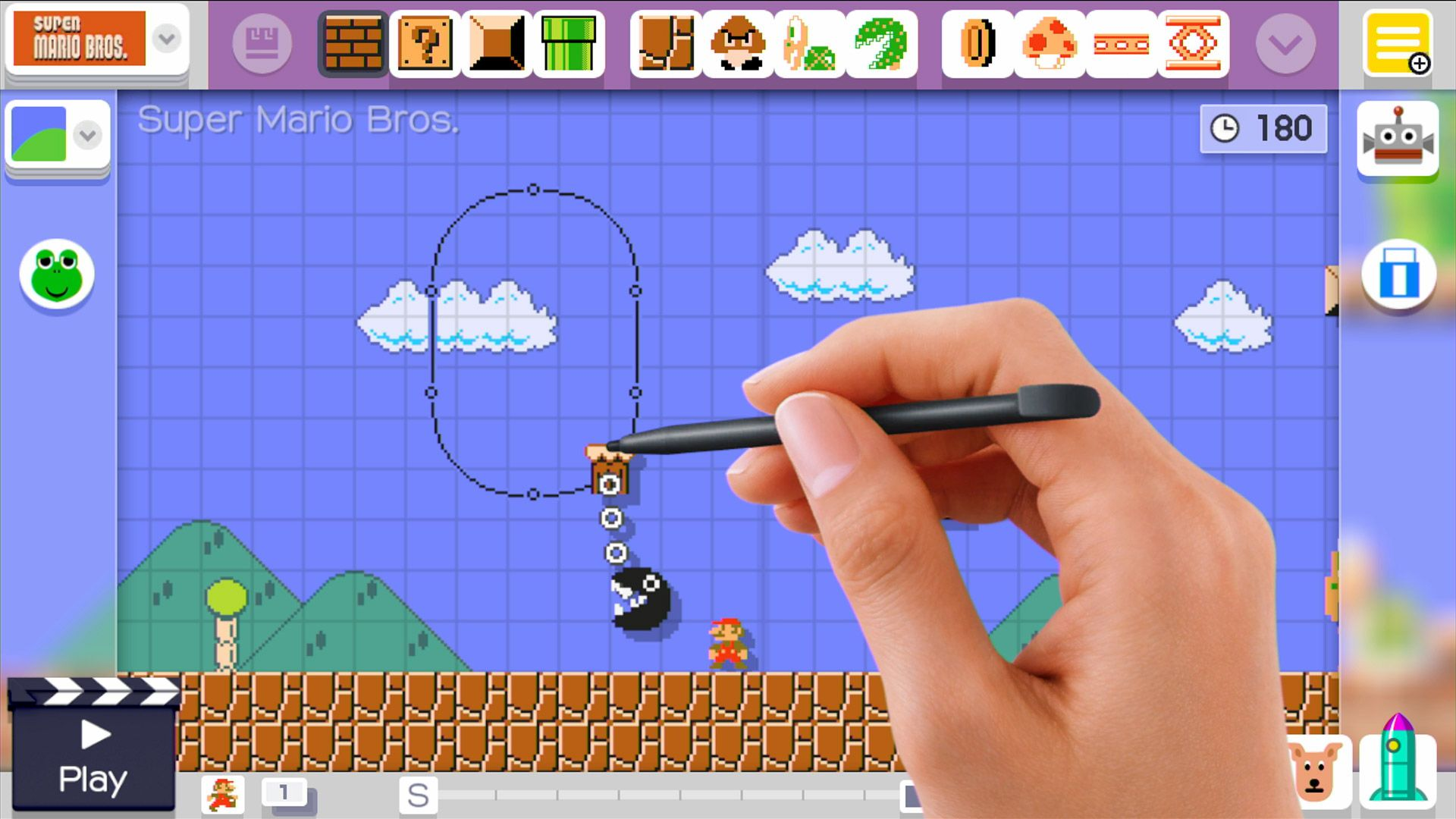 Super Mario Maker - edytor Super Mario Bros.