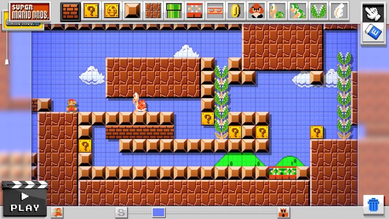 Super Mario Maker - tworzenie poziomów