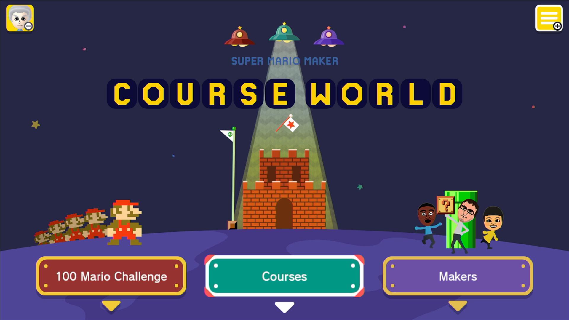 Super Mario Maker - Course World