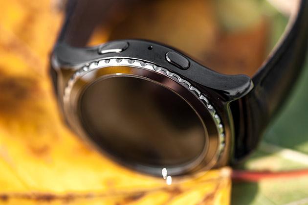 Samsung Gear S2 - przyciski