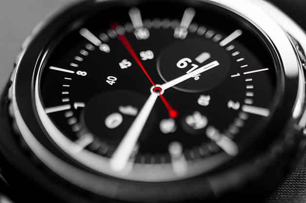 Samsung Gear S2 - wyświetlacz