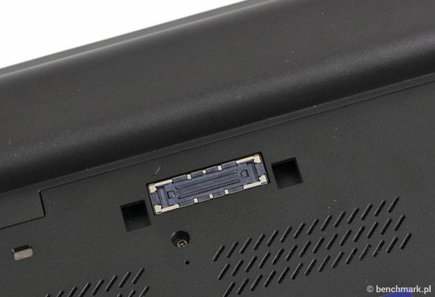 Lenovo ThinkPad W550s złącze dokujące