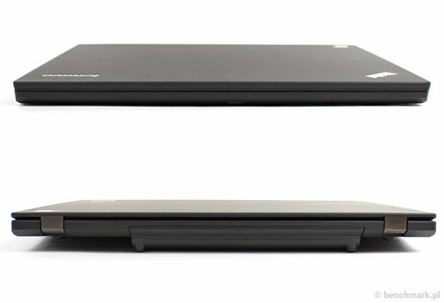 Lenovo ThinkPad W550s przód i tył