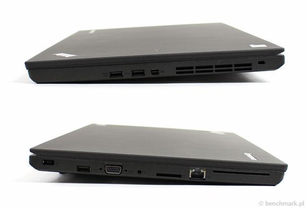 Lenovo ThinkPad W550s bok
