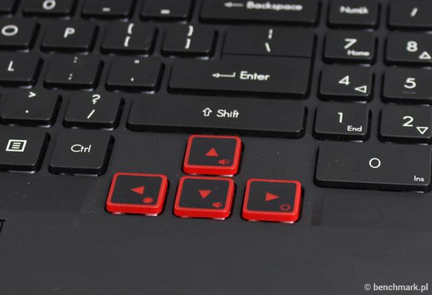 Acer Predator 15 klawiatura