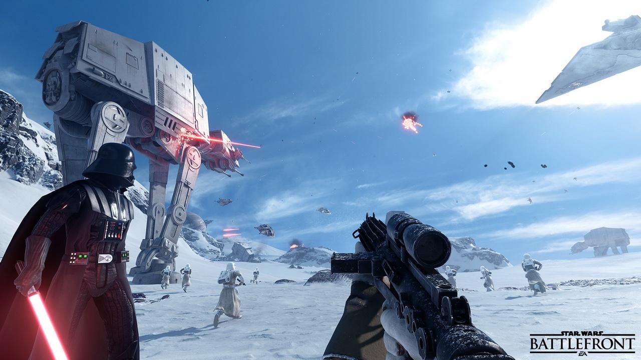 Star Wars: Battlefront - Darth Vader na Hoth