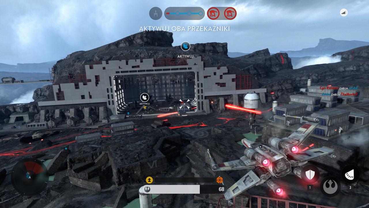 Star Wars: Battlefront - bitwa na Sollust