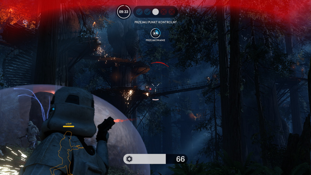 Star Wars: Battlefront - walka wśród drzew na Endorze