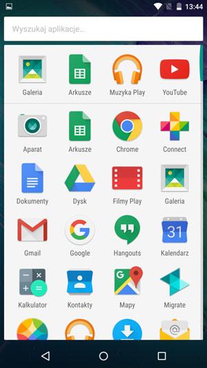 Motorola Moto X Style - aplikacje 1