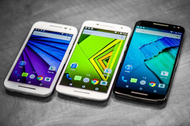 Motorola Moto G 3, Moto X Play, Moto X Style