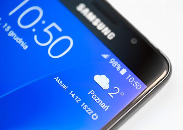 Samsung Galaxy A5 2016 - wyświetlacz